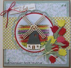 Marianne Design, Windmill, Holland, Advent Calendar, Holiday Decor, Frame, Cards, Tulips, Christmas