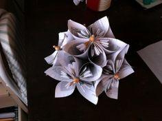 Beautiful Origami Centerpiece