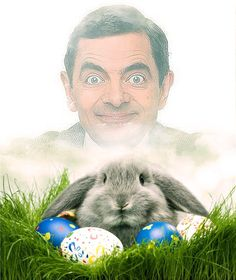 Funny photo effects Make Easter collage - PhotoFaceFun