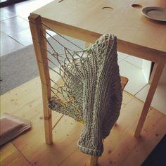 (Un)knitted chair. Paris Design Week...