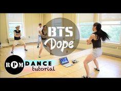 bts dope coreografia paso a paso español latino - YouTube