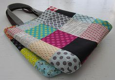 s.o.t.a.k handmade: Patchwork totes