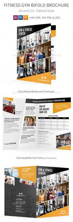 Multipurpose Tri-Fold Brochure - Expert Pro Chatas, Mensajes y - gym brochure