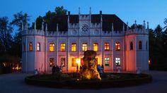 Schloss-Hotel in Reichenschwand (Nähe Nürnberg). Schönes Gebäude mit wunderbarem Schlosspark.