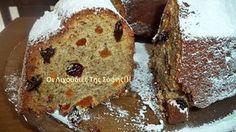 Ένα καταπληκτικό νηστίσιμο κέικ με φρέσκα και αποξηραμένα φρούτα!!!Δεν μπορω να σας περιγράψω πόσο νόστιμο είναι. Το πασπάλισα μόνο με άχνη ζάχαρη γιατί δεν πιστεύω ότι του χρειάζεται κάτι παραπάνω!!! ΥΛΙΚΑ 1 κούπα πορτοκαλάδα με ανθρακικό ή σόδα ή γκαζόζα 3/4 κούπας σπορέλαιο 1 1/2 κούπα ζάχαρη 1 μπανανα 2 βανίλιες 1 πρέζα αλάτι χυμό … Greek Recipes, Love Food, French Toast, Muffin, Food And Drink, Cooking Recipes, Sweets, Vegan, Cookies