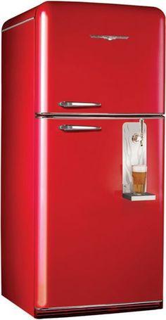 Northstar retro fridges, 1950 retro refrigerators, contemporary and modern kitchen appliances
