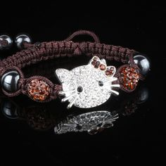 Hello Kitty Shamballa Bracelet from GODIS JEWELZ for $5.00