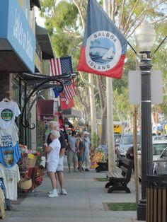 Balboa Island, CA Ray and I love to come here