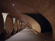 Cantina Antinori, Italy, by Archea Associati