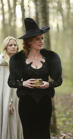 Zelena on Once Upon A Time. Wicked style.