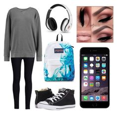 """""""Kill"""" by marvelteen14 ❤ liked on Polyvore featuring Rodarte, Converse, JanSport and Current/Elliott"""