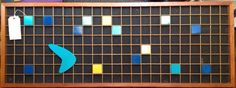 Vintage Peter Pepper Geometric Grid Art Mid Century Art, Clocks, Grid, Stuffed Peppers, Cool Stuff, Classic, Wall, Artwork, Vintage
