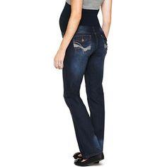Maternity Overbelly Back Flap-Pocket Skinny Jeans - jcpenney ...