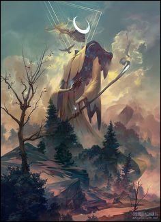 Художник Peter Mohrbacher | 'Ангелариум'. Обсуждение на LiveInternet - Российский Сервис Онлайн-Дневников