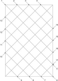 Diagonal Straight Line Quilting | Straight Line Sequence Diagonal Set | Quilting designs | Pinterest