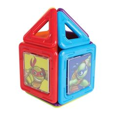Magformers - Half Shell Heroes Teenage Mutant Ninja Turtles Set - Multi Colored, 67001
