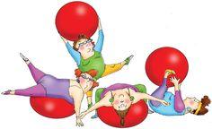 art impressions rubber stamps girlfriends   Workout Art Impressions Girlfriends Cling Rubber Stamp U3591