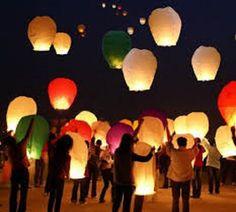 Tutorial Cara Membuat Lampion Terbang dari Kertas Minyak | Zona Kreatif