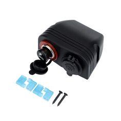 Car Cigarette Lighter Socket Plug + Power Charger Adapter
