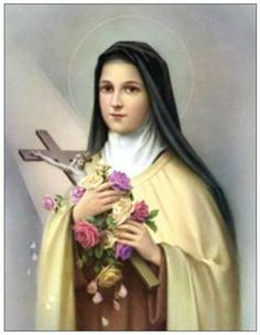St. Therese Lisieux, also known as the Little Flower