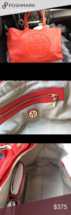 BOMBE BAG RED TORY BURCH RED Tory Burch Bags Satchels