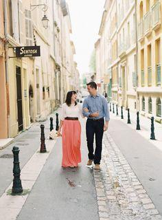 Provence anniversary shoot ~ Victoria Phipps Photography via Wedding Sparrow