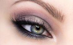 beautiful eye makeup - pink and purple