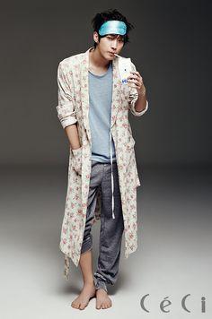 Jin Young - Ceci Magazine April Issue '14