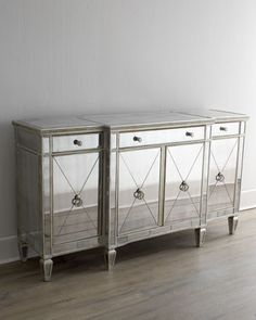 """Amelie"" Mirrored Buffet/Console - Horchow"