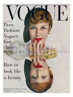 John Rawlings - Vogue Cover - September 1957