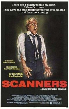 Scanners - David Cronenberg 1981