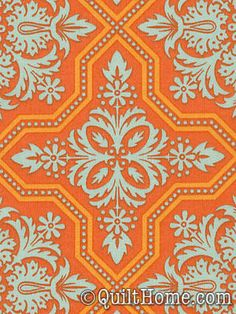 Heirloom JD49-Amber Fabric by Joel Dewberry