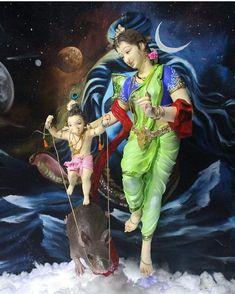 Shri Ganesh Images, Shiva Parvati Images, Lakshmi Images, Ganesha Pictures, Lord Shiva Painting, Ganesha Painting, Ganesha Art, Baby Ganesha, Baby Krishna