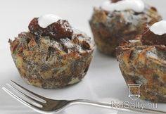 Sült mákos tészta What To Make, Muffin, Food And Drink, Keto, Breakfast, Muffins, Morning Breakfast