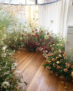 Ground Floral Installations with Jenn Sanchez from Team Flower Floral Wedding, Wedding Flowers, Wild Flower Wedding, Flower Installation, Zinnias, Ceremony Decorations, Wild Flowers, Exotic Flowers, Purple Flowers