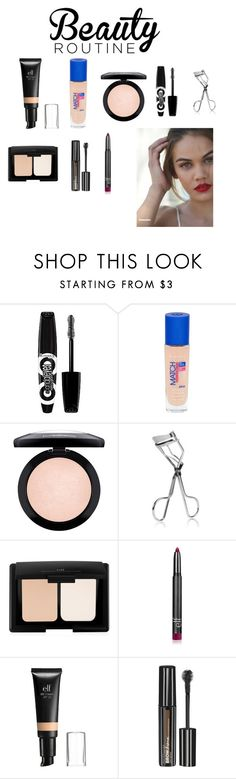 """""""Untitled #210"""" by jayne-writer on Polyvore featuring beauty, Rimmel, MAC Cosmetics, ELF Cosmetics, e.l.f. and Maybelline"""