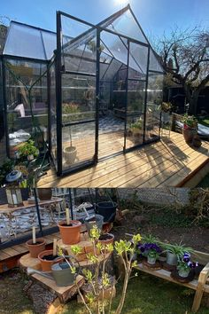 Those of you who upgraded their summer haven are now gaining double on the investment. Michael from Denmark put a lot into his Victory greenhouse and it's surroundings. It looks fabulous 👌🏼🌟😎 Stay Safe, Home Projects, Denmark, Victorious, Backyard, Garden, Summer, Patio, Summer Time
