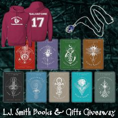 L.J. Smith Books & Gifts Giveaway