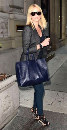 Business Chic Celebrity Style | Charlize Theron