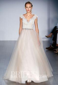 Brides.com: . Wedding dress by Alvina Valenta