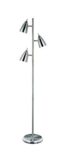 View the Lite Source LSF-9406PS Bullets 3 Light Floor Lamp at LightingDirect.com.