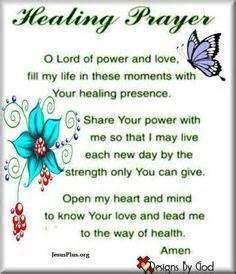 Prayers for Healing and Strength