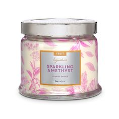 Sparkling Amethyst 3-Wick Jar Candle- Everyday Fragrances www.partylite.biz/cierajandreau
