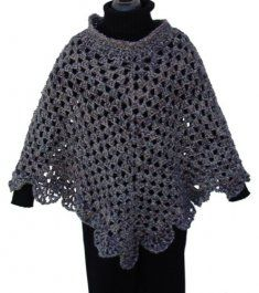 Question Adult crochet patterns for ponchos think