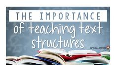 Learn how to teach text structures to your 2nd, 3rd, 4th, 5th, 6th grade, or home school students. These include cause and effect, compare and contrast, sequence, problem and solution, and descriptions. These work for informational and non fiction texts only. There's a great video you can find that easily explains it. Introduce these concept to your class during your next reading or ELA lesson. Use worksheets for centers or stations. #Elementary #TextStructures #Reading 4th Grade Reading, Guided Reading, Close Reading, Sixth Grade, Second Grade, Fourth Grade, 1st Grade Activities, 5th Grade Classroom, Text Structures