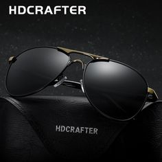092bd89809be HDCRAFTER High Quality Brand Designer Cool Sunglasses Polarized Oculos de  sol masculino 100%UV Protection