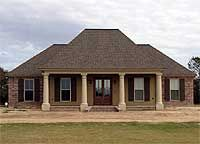 Southern Home Plan with Open Layout