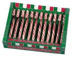 Candy cane kerstmis zuurstok - Lekkere amerikaanse zuurstokjes voor in de kerstboom. Maakt de kerstboom extra mooi en de zuurstok wandelstokjes zijn heerlijk!  Verkrijgbaar in de kleuren rood/wit (aardbeiensmaak). De lengte van deze stokjes is 12cm en ze wegen 50 gram per stuk.