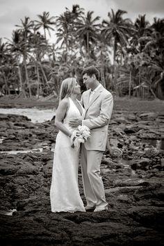 Punaluu Beach Wedding
