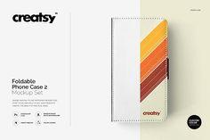 Foldable Phone Case 2 Mockup Set by Creatsy on @creativemarket
